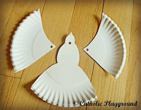 dove crafts for paper plate dove sunday school ideas