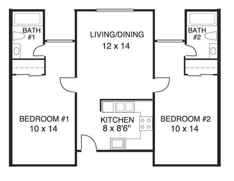 house plans with and bathrooms house plans 2 bedrooms 2 bathrooms new home plans design