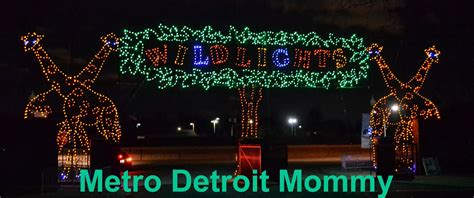 lights detroit zoo metro detroit lights at the detroit zoo