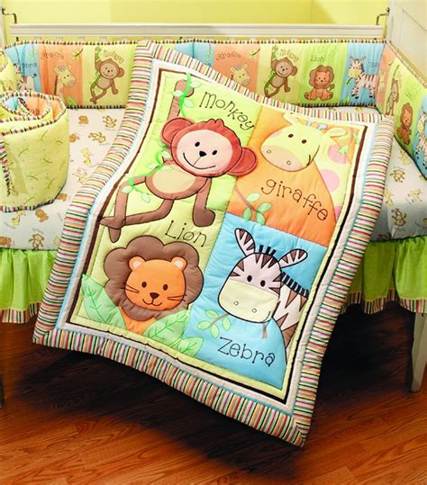 baby jungle bedding total fab jungle theme baby bedding
