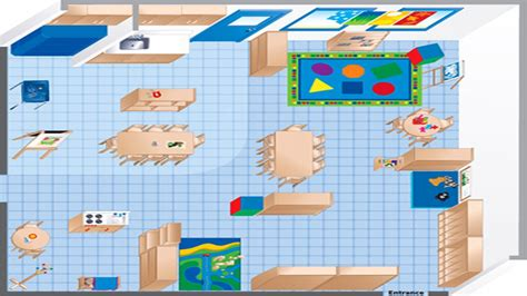 ecers classroom floor plan room diagram maker ecers preschool classroom floor plan