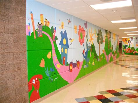 wall murals for schools 1000 images about mural and school wall ideas on