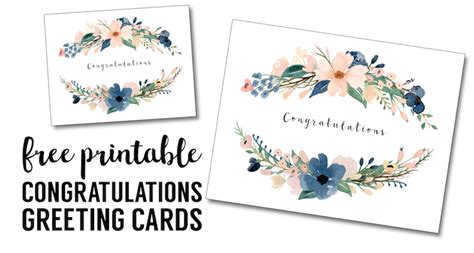 make free cards to print congratulations card printable free printable greeting
