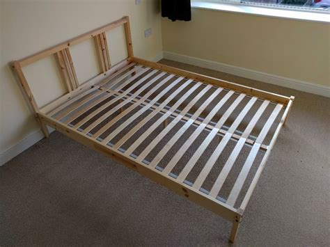 fjellse bed frame ikea fjellse bed frame great condition with slats in