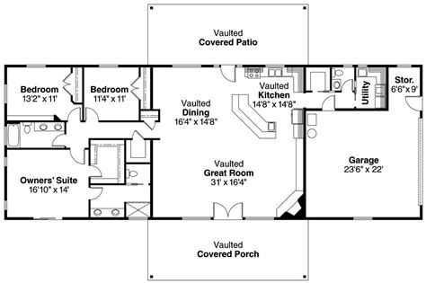 ranch home floor plans 15 best ranch house barn home farmhouse floor plans and design ideas barnhome ranchhouse