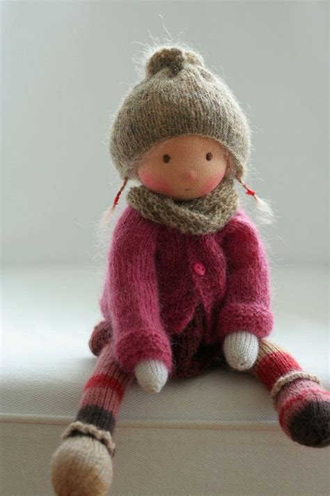 knitted waldorf doll pattern 1000 ideas about knitted dolls on waldorf