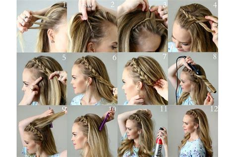 Step By Step Pictures Of Ideas To Braid Your Own Hairs For