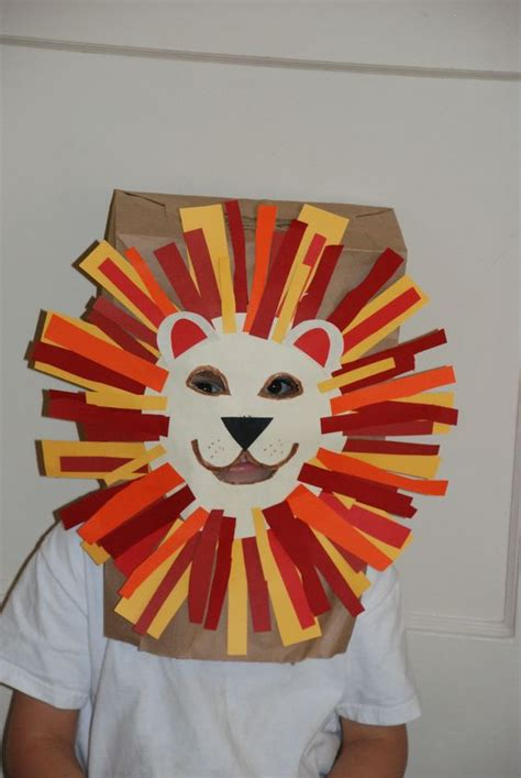 paper bag crafts for adults craft paper bag mask kidsimple crafts
