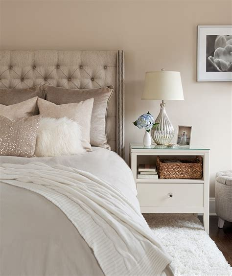 neutral paint colors for a bedroom the abode li bedroom tufted headboard sequin