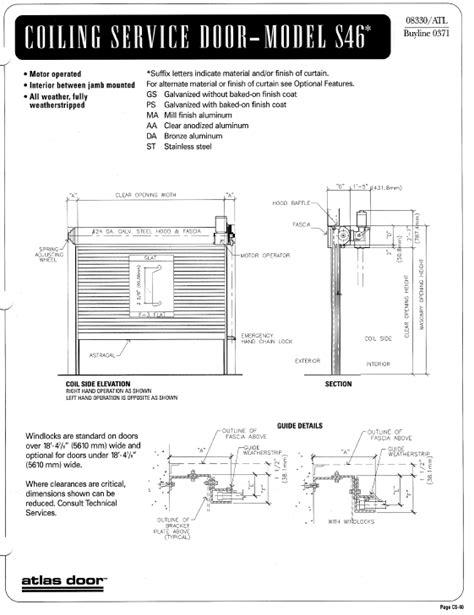 overhead coiling door details overhead coiling door details building rfa coiling door