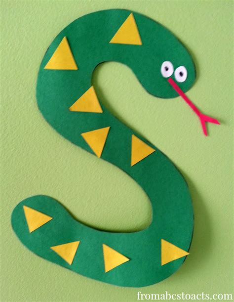 south crafts for tot school themes the letter s from abcs to acts