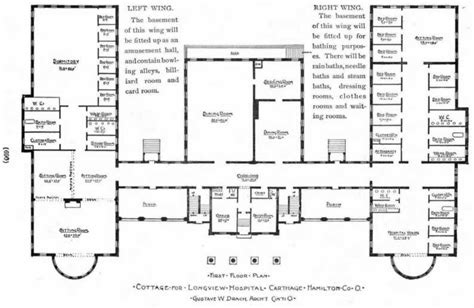 floor plan of a hospital ohio american local history network alhn early