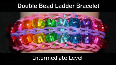 how to make a ladder bracelet with rainbow loom 174 bead ladder bracelet