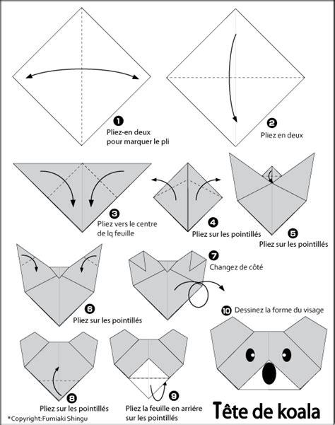 how to make a origami koala pin origami de koala on