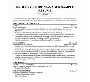 free resumes sample resume sample resumes free store manager sample resume - Food Store Manager Sample Resume