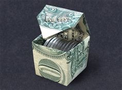 money origami cube 1000 images about dollar origami on money