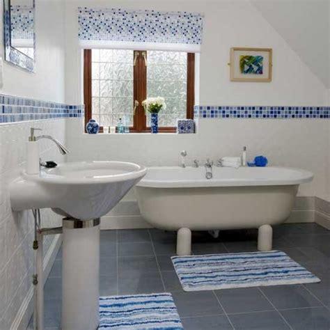 Bathroom Tiles Blue And White by Mosaic Bathroom Housetohome Co Uk