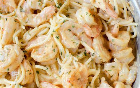 une recette facile de p 226 tes aux crevettes