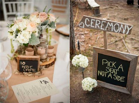 simple decor say i do to these fab 51 rustic wedding decorations