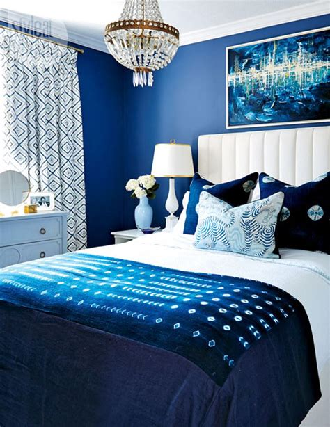 bed blue 14 beautiful blue bedrooms style at home