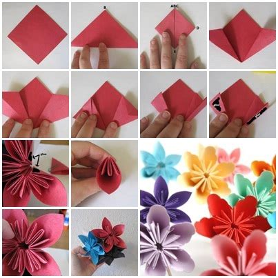 the paper company crafts and creativity how to fold diy kusudama paper craft flower