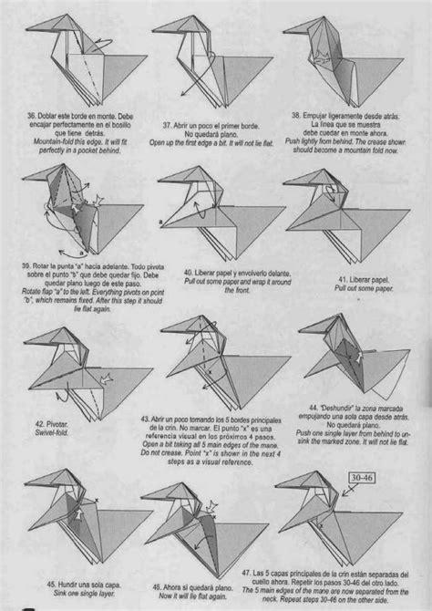 how to make an origami unicorn unicorn origami paper origami guide