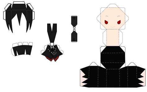 anime paper craft chibi anime paper crafts