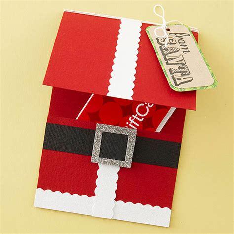 santa cards to make santa claus crafts ideas