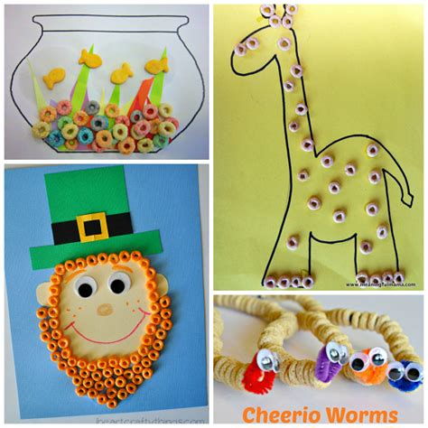 how to make craft fantastic crafts using cereal crafty morning