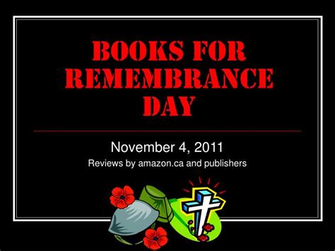 remembrance day picture books ppt books for remembrance day powerpoint presentation