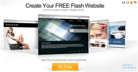 free site 45 web builders to create an insanely awesome free website