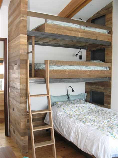 picture of bunk beds saving space and staying stylish with bunk beds