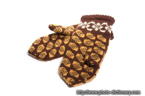 knitted definition knitted gloves photo picture definition at photo