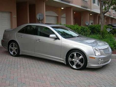 custom rubber sts large netrave 2006 cadillac sts specs photos modification info