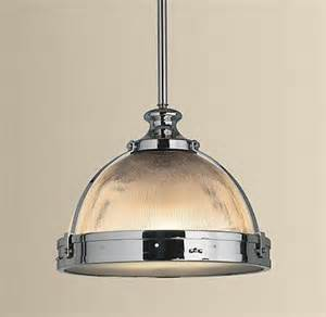 kitchen with pendant lighting clemson ribbed glass dome pendant