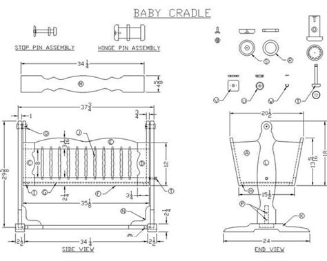 bassinet woodworking plans 25 best ideas about baby cradles on moon