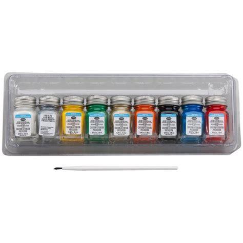acrylic paint set walmart testors acrylic paint set crafts walmart