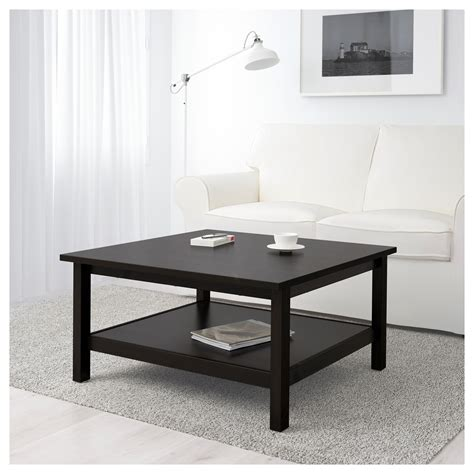 hemnes coffee table black brown hemnes coffee table black brown 90x90 cm ikea