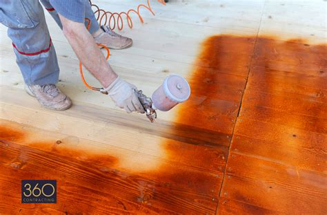 spray painting varnished wood about 360 contracting spray painting renovations