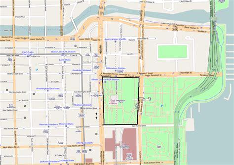 Parking Garage Floor Plan file millennium park location png wikimedia commons
