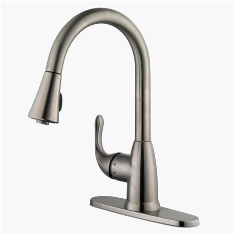 stainless steel kitchen faucet with pull spray stainless steel kitchen faucet with pull spray gl kitchen design