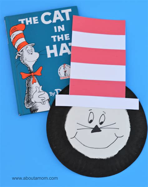 cat in the hat crafts for ultimate list of dr seuss activities crafts more