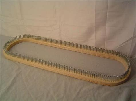 wooden knitting looms for sale da looms rectangular knitting loom 25 quot wood w metal pins