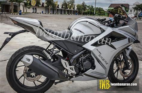 Modified Honda Cbr 150 by Honda Cbr150r Modified To Cbr250rr In Indonesia Modifiedx
