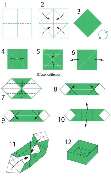 how to create origami how to make a origami box diy origami box with a printable