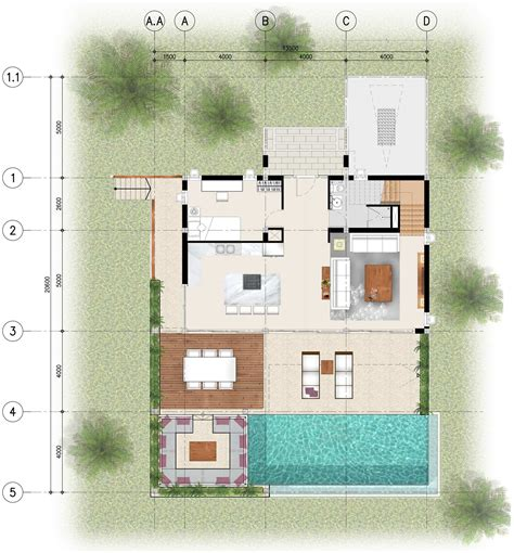 4 bedroom floor plans 4 bedroom floor plans bay villas koh phangan koh