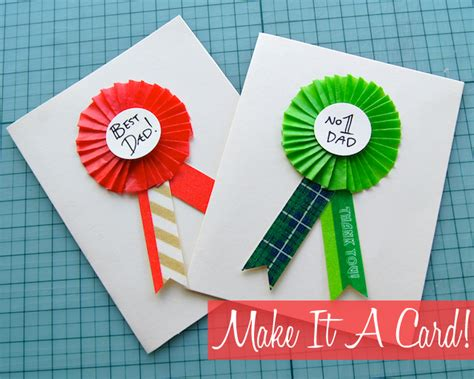day card to make diy fathers day card ideas 2015