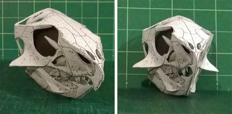 paper craft skull diy dinosaurs sauropod vertebra picture of the week