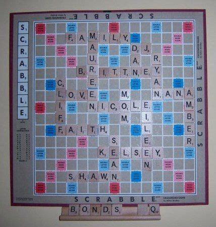 Scrabble Crafts