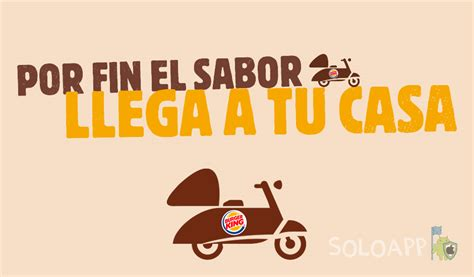 burger king en casa descarga la app a domicilio - Burger King En Casa Es